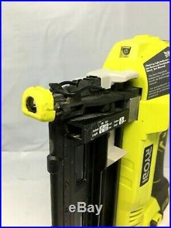 Ryobi P325 18V Li-Ion 16-Gauge Finish Nailer, Tool Only, R829