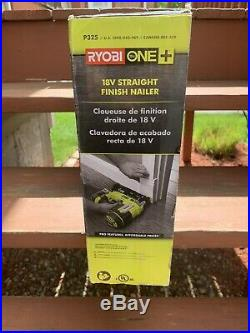 Ryobi P325 18V ONE+ Li-Ion Cordless 16-Gauge Straight Finish Nailer Tool Only