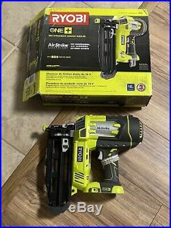 Ryobi P325 18-V ONE+AirStrike 16-Gauge Cordless Straight Nailer (Bare Tool)