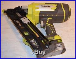 Ryobi P330 Angled Nailer Cordless Air Nail Gun Finish 18v 15-g (1) 18v Battery