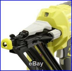 Ryobi P330 Cordless Angled Stapler Nailer Nail Gun 15-Gauge Adjustable Depth