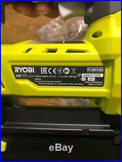 Ryobi R18N18G-0 18v Cordless AirStrike Nailer 18 Gauge Bare Unit Li-ion NEW