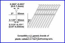Siding Nailer Roofing Nail Gun Finishing Fence Floor Construction Metal Compress