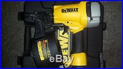 Siding coil Nailer dw66C nail gun withcase Dewalt version of bostitch n66c + wrnty