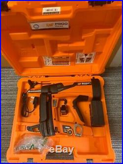 Spit Pulsa 800P+ Cordless Gas Nailer Case, Battery & Charger VAT Receipt