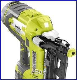 Straight Finish Cordless Nailer Air Nail Gun 18-Volt 16-Gauge Trim (Tool-Only)