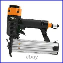 Trim Nailer Finish Brad Pin Stapler Kit Air Nail Gun Aluminum 4-Piece and Bag 25