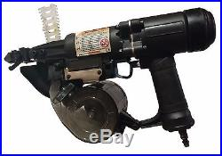 Used MAX Multi-Impact Coil Nailer CNV300J Roof Framing Specialty Nail Gun WithCase