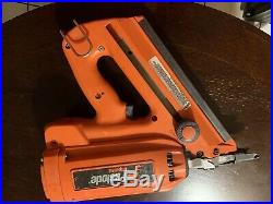 Used No Battery Paslode Cordless Impulse Framing Nailer 30 Degree Nail Gun Tool