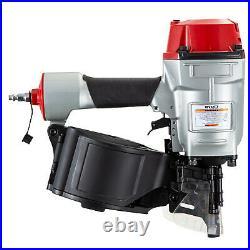 VEVOR CN70 Coil Nailer, 2-3/4 15 Deg. Pneumatic Roofing Siding Nailer Nail Gun