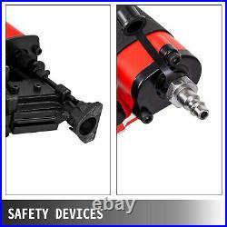 VEVOR CNR45 Coil Nailer, 1-3/4 15 Deg. Pneumatic Roofing Siding Nailer Nail Gun