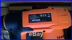 VonHaus 18V Li-ion 2Ah Cordless Electric Nailer / Stapler Gun