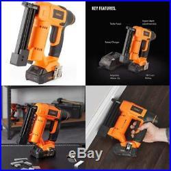 Vonhaus Premium 18V Electric Cordless Nail Gun Brad Nailer Battery Operated NEW